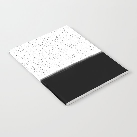 Dots and Black II Notebook