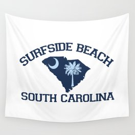 Surfside Beach - South Carolina. Wall Tapestry