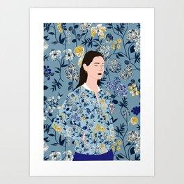 CAMÉLÉON Art Print