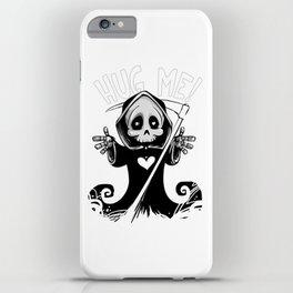 Cute Grim Reaper - Baby Death Wants a Hug! iPhone Case
