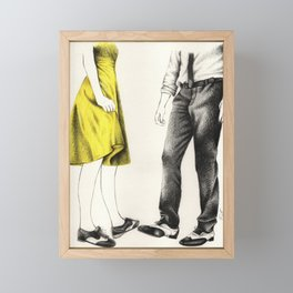 La La Land Framed Mini Art Print