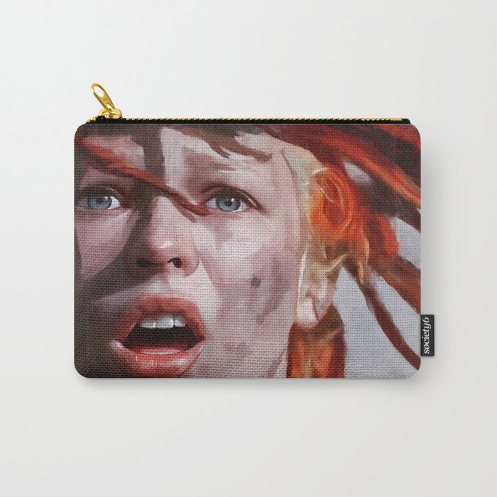 Painted Illustration Of Leeloo From The Cult Classic Film The Fifth Element Carry-All Pouch