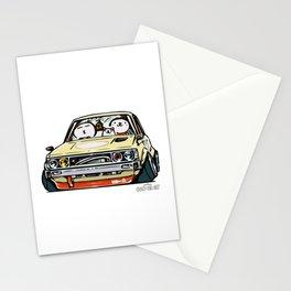 Crazy Car Art 0148 Stationery Cards
