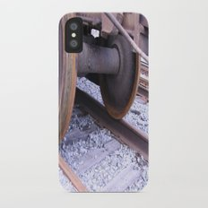 Wheels on the Track Slim Case iPhone X
