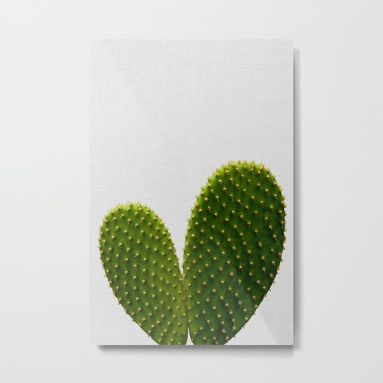 Heart Cactus by paperpixelprints