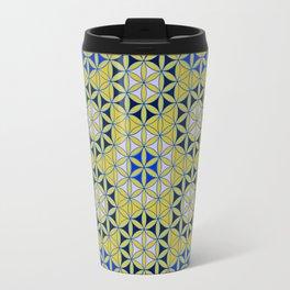 Flower of Life Pattern 28 Travel Mug