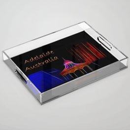 Electrified Adelaide Acrylic Tray