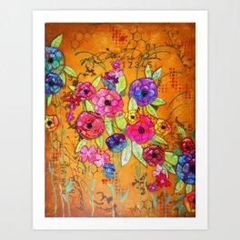 Flowers Flowers Flowers Art Print