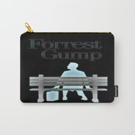 Forrest On The Bench Carry-All Pouch