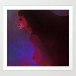 Forever in my mind Art Print