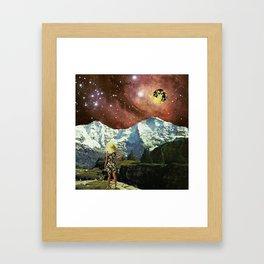 Optoku Valley Framed Art Print