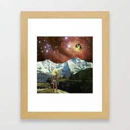 Optoku Valley Framed Art Print