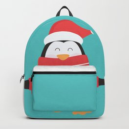 Little Penguin in Ugly Christmas Sweaters Backpack