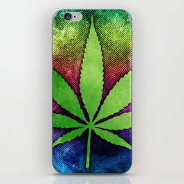 Pot Leaf iPhone Skin