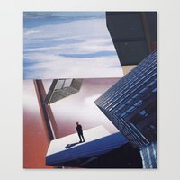 inception Canvas Prints featuring inception by Mirawek Wolff