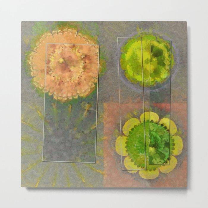 Wheresoever Balance Flower  ID:16165-142355-00811 Metal Print