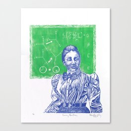 Emmy Noether, Giant of Math and Physis Canvas Print
