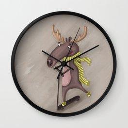 mad moose Wall Clock