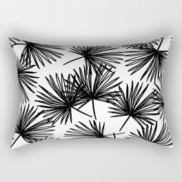 In the Palm of your hand (black and white) Rectangular Pillow