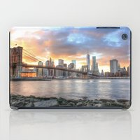 dumbo iPad Cases featuring New York from DUMBO by RaulCano