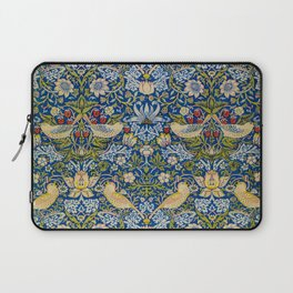 Printed Fabric Strawberry Thief by William Morris Laptop Sleeve