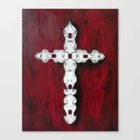 religion Canvas Prints featuring Religion by James Davis