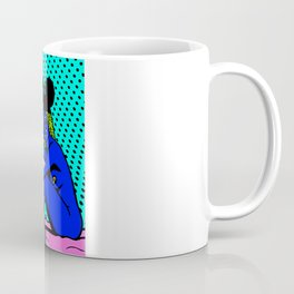 PIMPIN'.  (Mouseketeer).  (On Turquoise). Coffee Mug