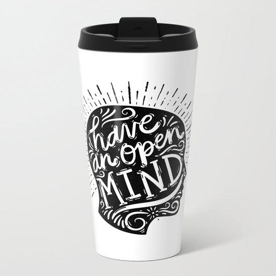Open Mind Metal Travel Mug