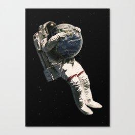 Hugger Canvas Print