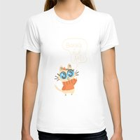 bonjour T-shirts featuring Bonjour by AronDraws