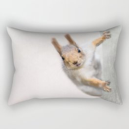 Squirrel - Who are you? Rectangular Pillow