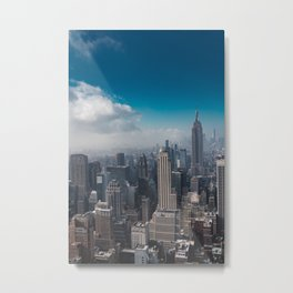 New York State of Mind V Metal Print