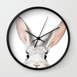 Hello Bunny Wall Clock