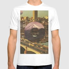 City Transport Mens Fitted Tee White MEDIUM
