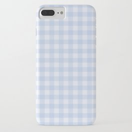 Gingham Pattern - Blue iPhone Case