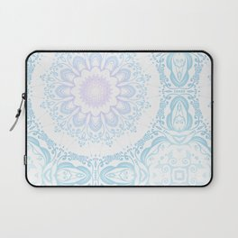 winter sun Mandala Laptop Sleeve