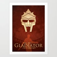gladiator Art Prints featuring Gladiator II by Anton Lundin
