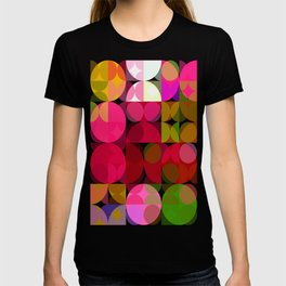 Crape Myrtle Abstract Circles 3 T-shirt