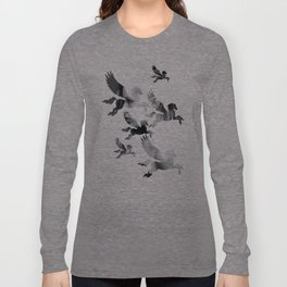 Facing Pegasus Long Sleeve T-shirt