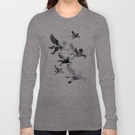 Facing Pegasus Long Sleeve T-shirt