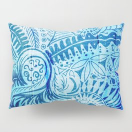 New Zealand inspired Mandala Pillow Sham