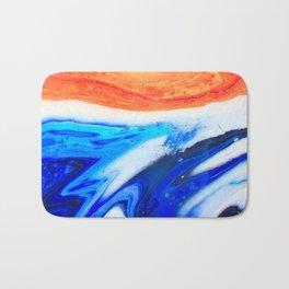 Sand and Ocean Bath Mat