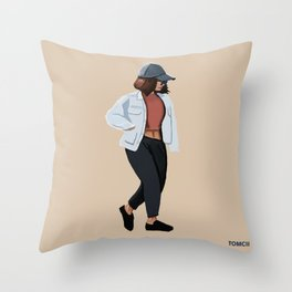 Fashion Jacket Throw Pillow