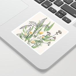 Spring Garden I Sticker