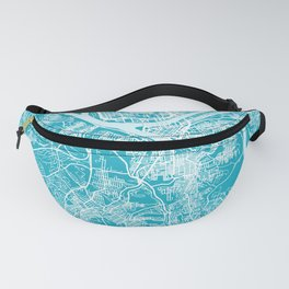 PITTSBURGH Map | Aqua | More Colors, Review My Collections Fanny Pack