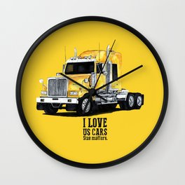 truck kenworth Wall Clock
