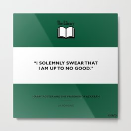 I Solemnly Swear Metal Print