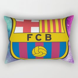 Barcelona FC Galaxy Rectangular Pillow