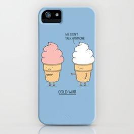 Cold war iPhone Case