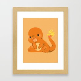 Chaaarmander Framed Art Print